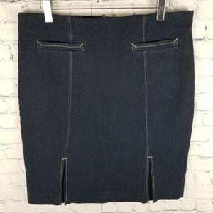 JOCKEY   super stretch double slit pencil skirt